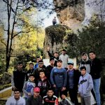 Students on day trip